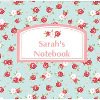 Personalised Floral Notepad - Prezzybox Gifts