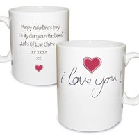 Personalised I Love You Mug - Mug Gifts