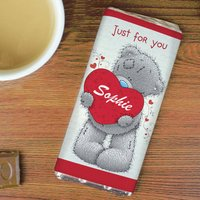 Personalised Me To You Chocolate Bar - Chocolate Gifts