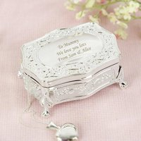 Personalised Small Antique Trinket Box - Prezzybox Gifts