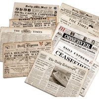 Original Newspaper 21st Birthday in a Gift Box