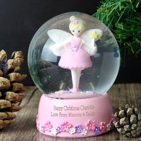 Personalised Fairy Snow Globe - Prezzybox Gifts