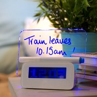 Scribble Writing Alarm Clock - Seek Gifts