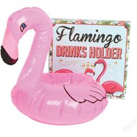 Flamingo Inflatable Drinks Holder - Flamingo Gifts