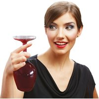 Giant Upside Down Wine Glass - Alcohol Gifts