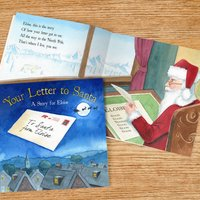 Personalised Christmas Book - Your Letter to Santa - Prezzybox Gifts