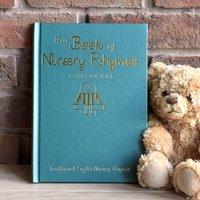 Personalised Nursery Rhymes Book - Hardback - Nursery Gifts