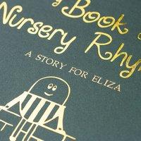 Personalised Nursery Rhymes Book - Hardback - Book Gifts