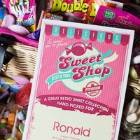 Personalised Retro Sweetie Hamper - Prezzybox Gifts