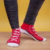 Sneaker Socks - Red - Clothes Gifts