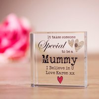 Personalised Someone Special Crystal Block - Prezzybox Gifts