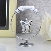 Personalised Crystocraft Angel - Angel Gifts