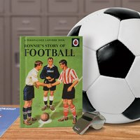 Personalised Ladybird Book of Football - Football Gifts