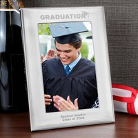 Personalised Silver Graduation Photo Frame - Graduation Gifts