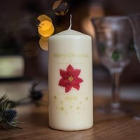 Personalised Christmas Candle - Prezzybox Gifts