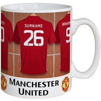 Personalised Dressing Room Mug - Man Utd - Mug Gifts