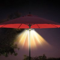 Ion Audio Patio Mate - Umbrella Light With Bluetooth Speaker