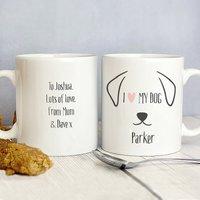 Personalised Dog Mug - Dog Gifts