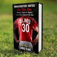 Personalised Manchester United On This Day Book - Book Gifts