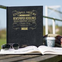 Personalised Football Team History Book Deluxe - Football Gifts