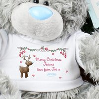 Personalised Me To You Bear - Reindeer T-shirt - Prezzybox Gifts