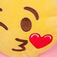 Emoji Cushion - Wink Kiss - Prezzybox Gifts
