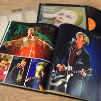 Personalised David Bowie Pictorial Newspaper Book - Anniversary Gifts
