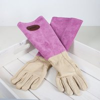 Personalised Leather Gardening Gloves - Gardening Gifts