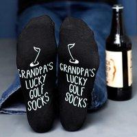 Personalised Golf Socks - Golf Gifts