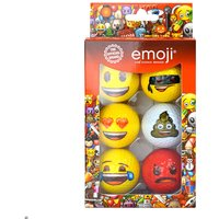 Emoji Golf Balls - Pack Of Six - Golf Gifts