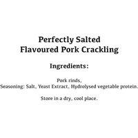 Perfectly Salted Pork Crackling Gift Jar - Novelty Gifts