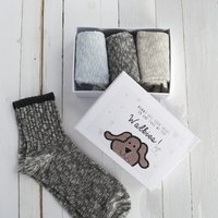 Personalised Dog Walking Socks - Walking Gifts