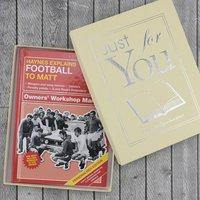 Personalised Haynes Explains Football - Football Gifts