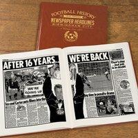 Personalised Birmingham City Football Team History Book - Football Gifts