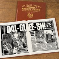 Personalised Blackburn Rovers Football Team History Book - Football Gifts