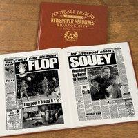Personalised Bristol City Football Team History Book - Football Gifts