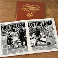 Personalised Chelsea Football Team History Book - Football Gifts