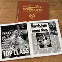 Personalised Reading Football Team History Book - Football Gifts