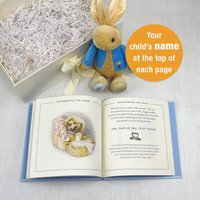 Personalised Peter Rabbit Guide to Life Plush Toy Gift Set - Personalised Gifts Gifts