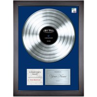Personalised 'Your Song' Poster Platinum - Poster Gifts