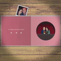Personalised I Love You Book - Book Gifts