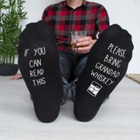Personalised Hidden Message Please Bring Alcohol Socks - Alcohol Gifts