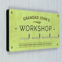 Personalised Workshop Hooks - Prezzybox Gifts