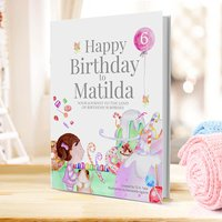 Personalised Children's Birthday Book - Birthday Gifts