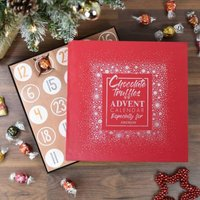 Personalised Chocolate Truffle Advent Calendar - Chocolate Gifts