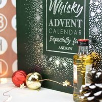 Personalised Whisky Advent Calendar