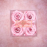 One Year Roses Make Up Box - 4 Piece - Makeup Gifts