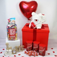 Personalised Deluxe Love Gift Box - Personalised Gifts