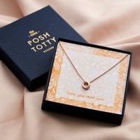 Personalised Exclusive Necklace Gift Box