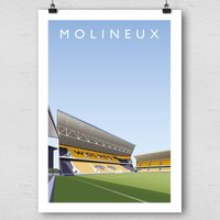 Premier League Current Grounds Football Print - Football Gifts